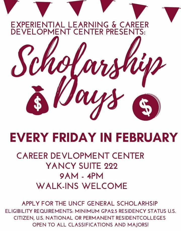 SHAW U-Scholarship Days