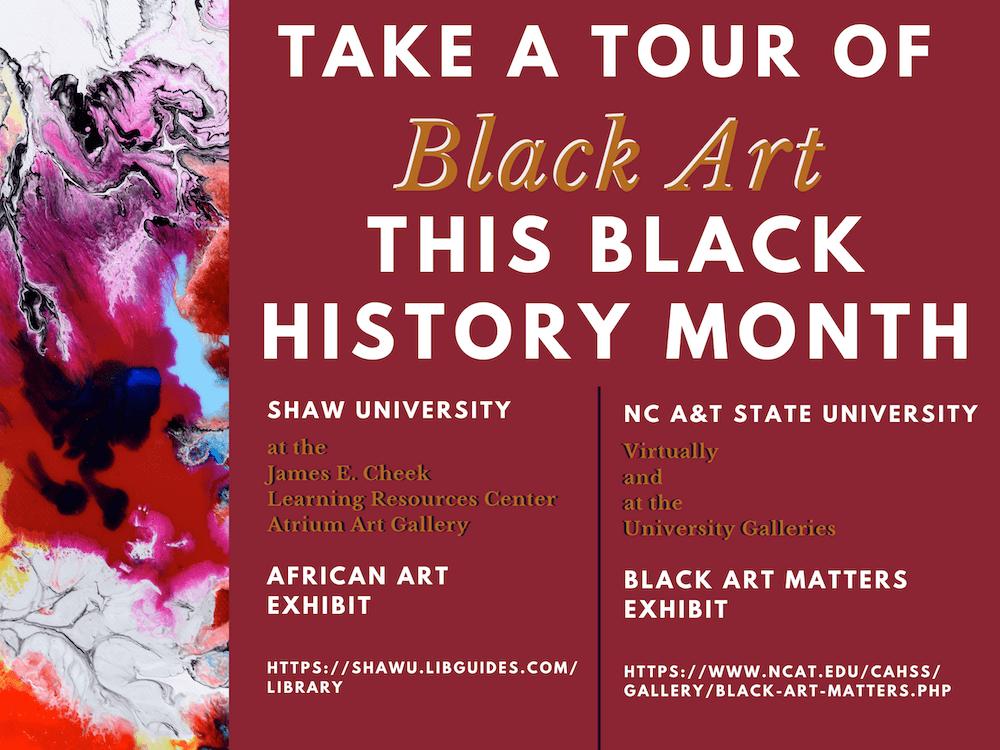 University Library - Black Art Matters Campaign