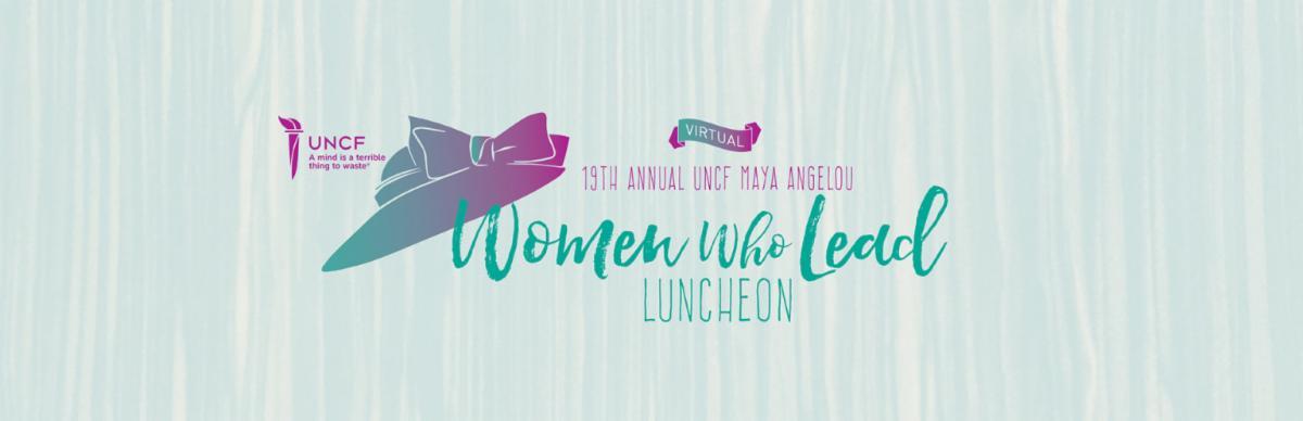 2021 Virtual Maya Angelou Women Who Lead Luncheon