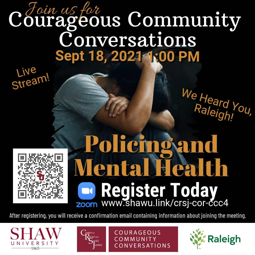 Courageous Community Conversations: Policing & Mental Health