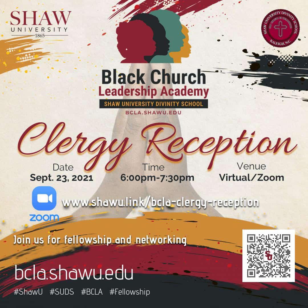 BCLA - Clergy Reception