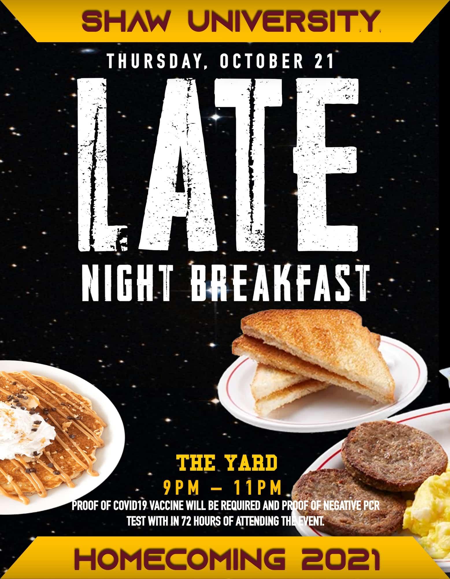10.21.21 - late night breakfast